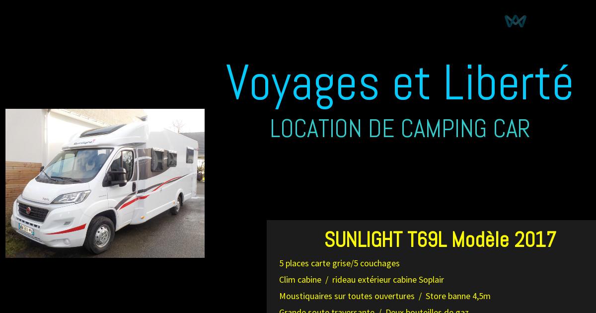voyages et libert le camping car et ses services. Black Bedroom Furniture Sets. Home Design Ideas
